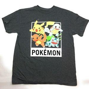 Kid's Pokemon Boy's Short Sleeve Graphic Shirt